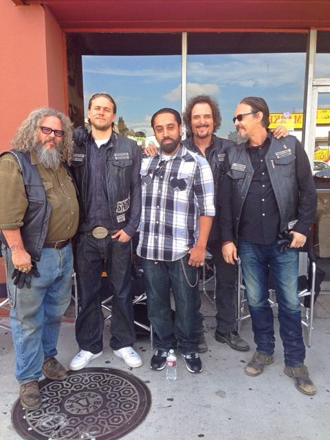 A SONny day in #LosAngeles with my brother @KimFCoates #Havenotz #ThisIsMe #SonsOfAnarchy #SoaFx @TommyFlanagan http://t.co/z6lttvauKm
