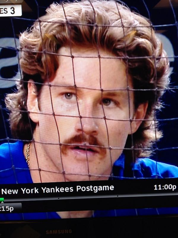 "Bob Lorenz on Twitter: ""Could Miles Mikolas have a fluffier & even thicker  pile of hair than @PaulONeillYES?! #70sCopShow http://t.co/RwLfmIxE2F"""