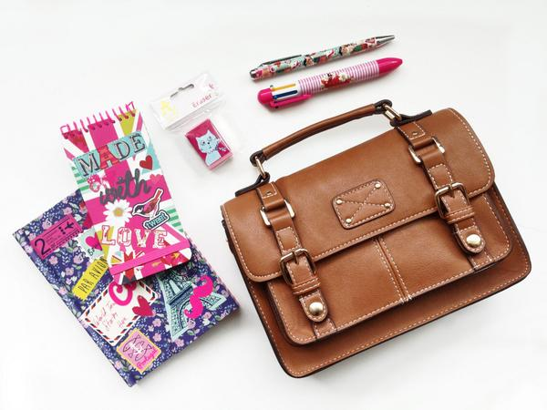 #WIN a preppy satchel & stylish stationery! Follow and RT by 5pm, Tuesday 5th August to enter. #BacktoSchool http://t.co/fxrE1eBmAu