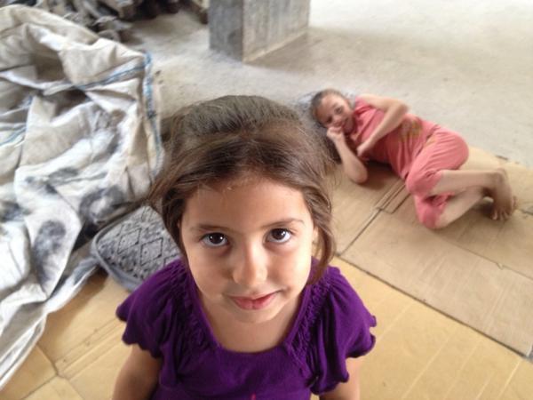 Dima is 4, she's already seen 2 #Gaza wars. http://t.co/i5EJ5rK5EV