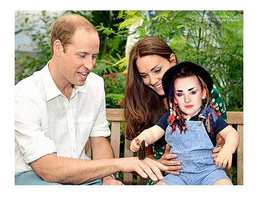 I'm loving the birthday pics of Kate and Will and their lovely little boy George (ta @davidlberesford) http://t.co/vnZ8RiIRE6