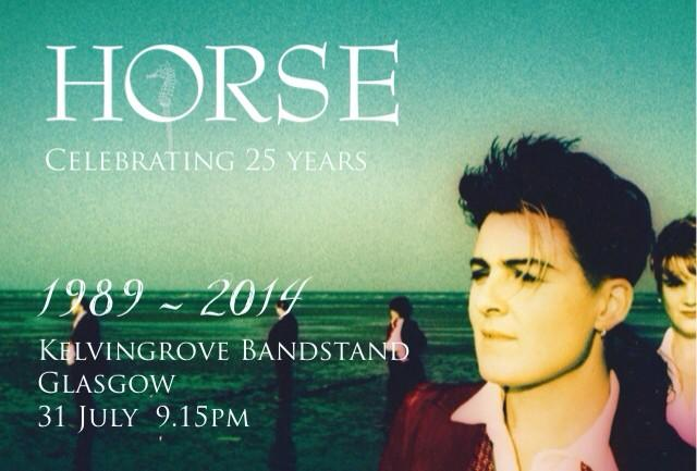 RT @horsemusic: Looking forward returning to Kelvingrove Banstand 31 July...Join me celebrating 25 years of music http://t.co/O1QjFgyx7i