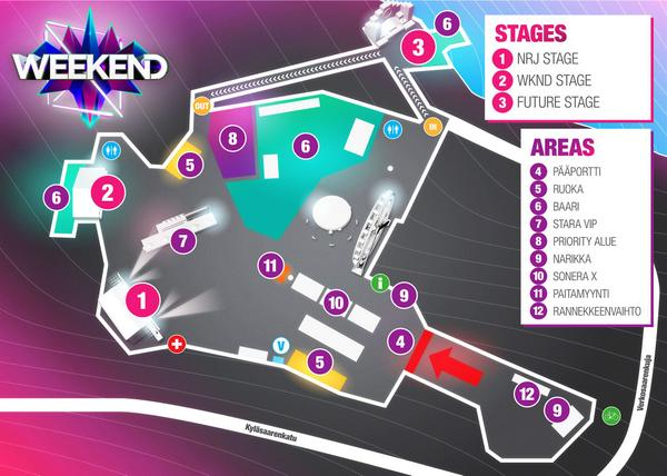 Weekend Festival On Twitter Check This Out This Is The Area Map