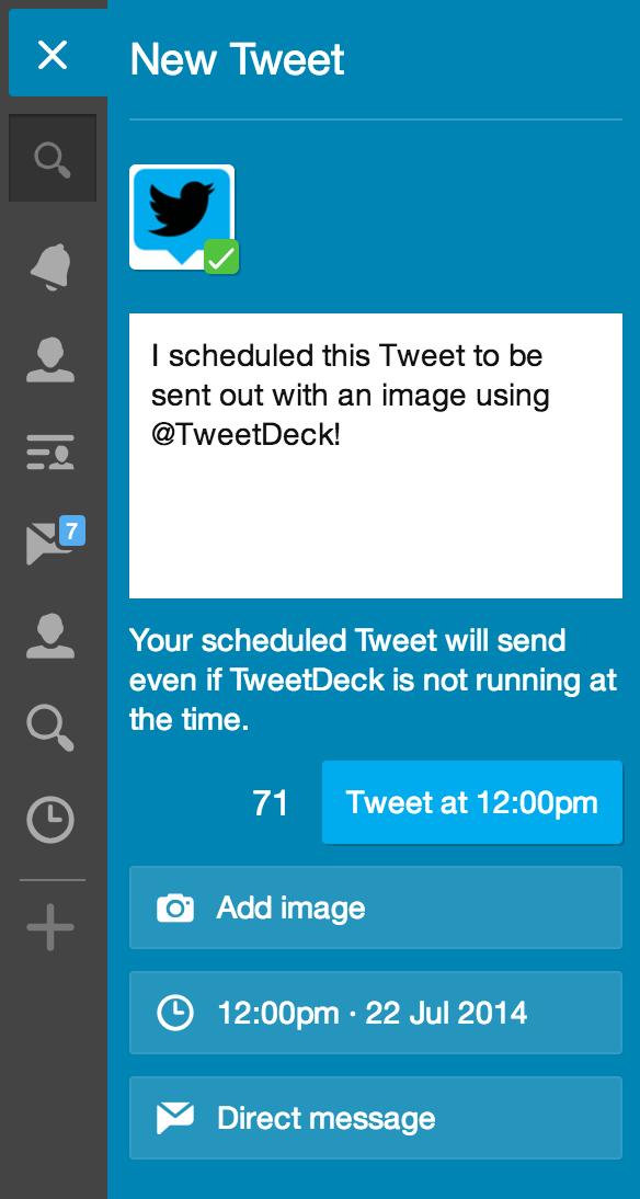 TweetDeck on Twitter: