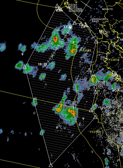 Hatched area shows where the marine weather statement is for. http://t.co/q2Tkpk871l