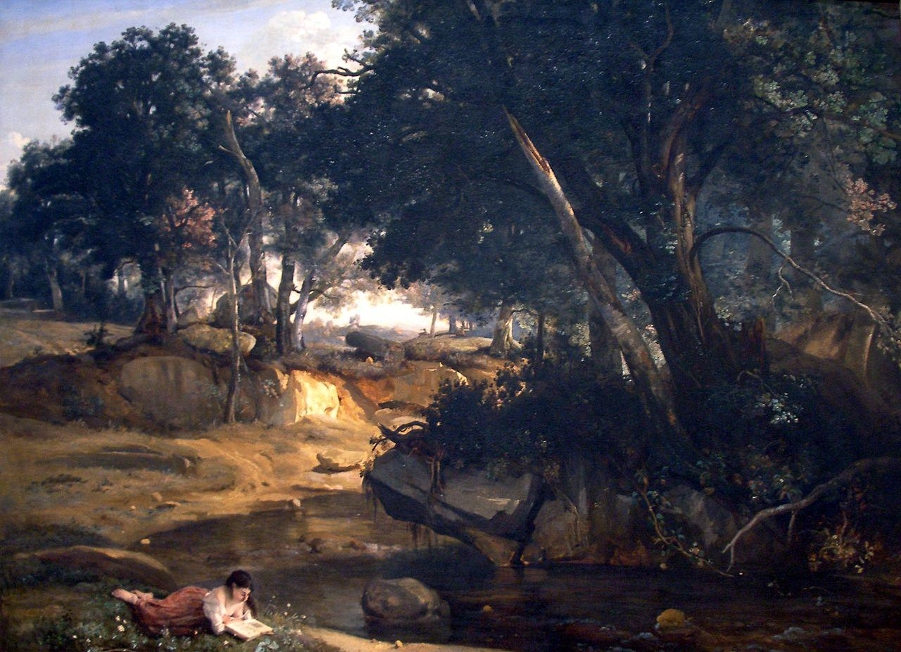 View of the Forest of Fontainebleau