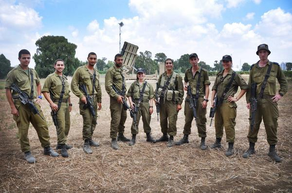 Our soldiers operating the Iron Dome are saving countless Israeli lives. Retweet if you're impressed – and thankful. http://t.co/g9BqwFkeDA