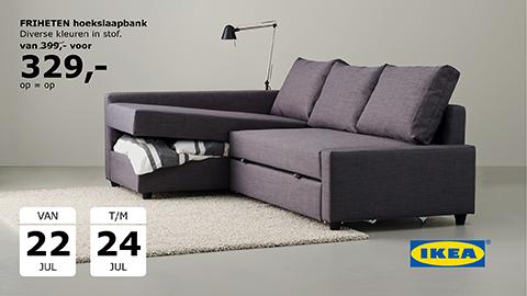 Slaapbank Ikea Friheten.Ikea Nederland A Twitter Maak Van Je Woonkamer Een Slaapkamer Met
