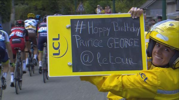 Happy Birthday Prince George ! 🇬🇧 @letouryorkshire http://t.co/g8Ie4GFfe4
