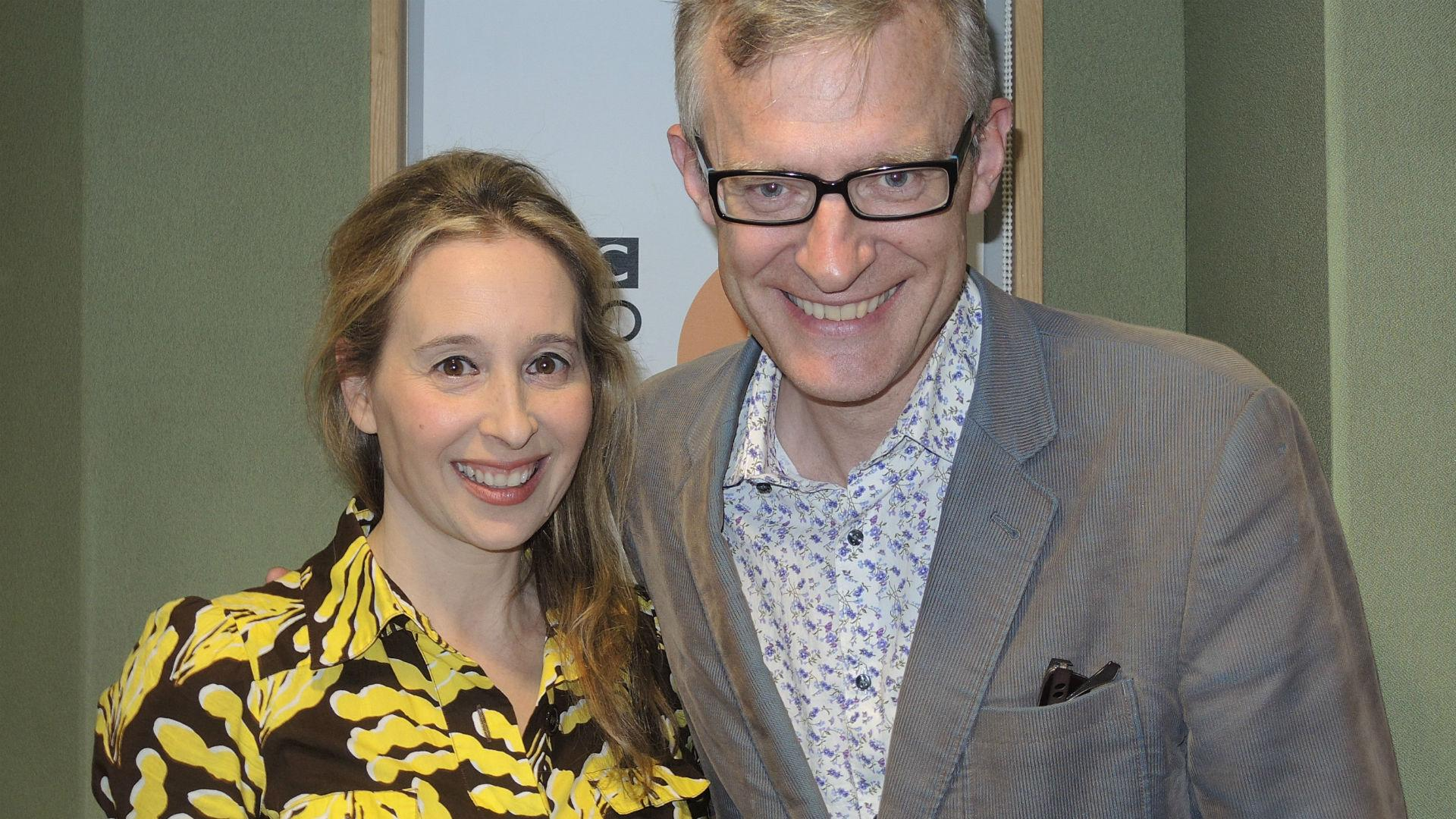 RT @BBCRadio2: Huge thanks to @noreenahertz, who joined us for a brilliant What Makes Us Human! http://t.co/2Ll8UarvrG