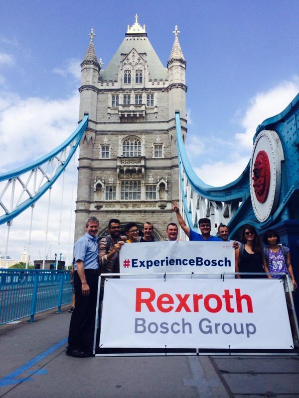 #BoschIsPartOfIt Tower Bridge. #experiencebosch http://t.co/50QCUCIyEm
