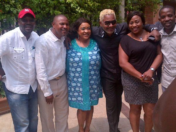 BtK7Y2qIYAAWQ69 Saidi Balogun, Foluke Daramola & Other Yoruba Movie Stars Excited To Meet Awilo