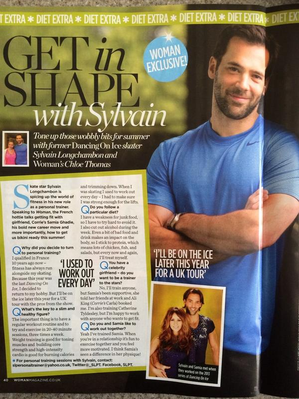 In this week's woman magazine get my 5 fitness tips for this summer! #beachbody @WomanMagazine @slongchambon @_SLPT http://t.co/lmlX5dHpFN
