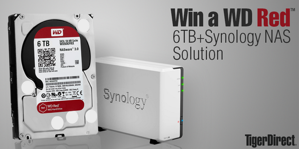 We're giving away a brand new 6TB WD Red drive+Synology NAS combo!! Re-tweet for a chance! http://t.co/yp8VvTXfzy http://t.co/Xr4MpLIFXG