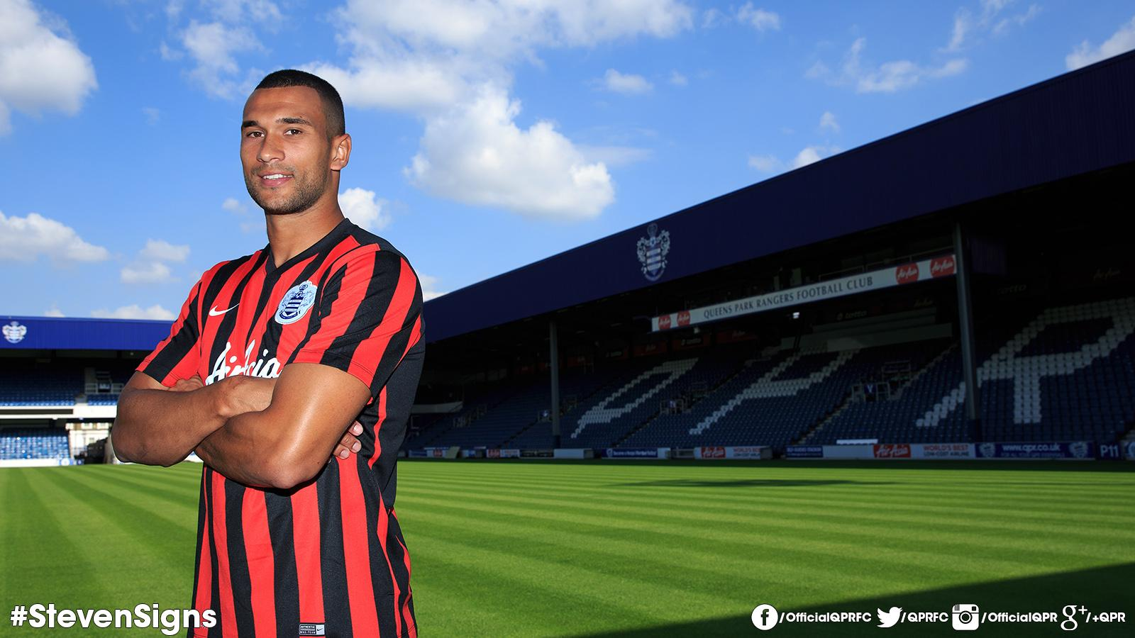 RT @QPRFC: RT to join us in welcoming @Caulker4 to @QPRFC #StevenSigns http://t.co/QcR4VTS9Es