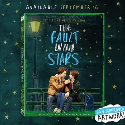 Calling all our #TFIOS fans! RT if you are excited about the #LittleInfinities Edition @TheFaultMovie Blu-ray - 9/16! http://t.co/fybStLTzG9