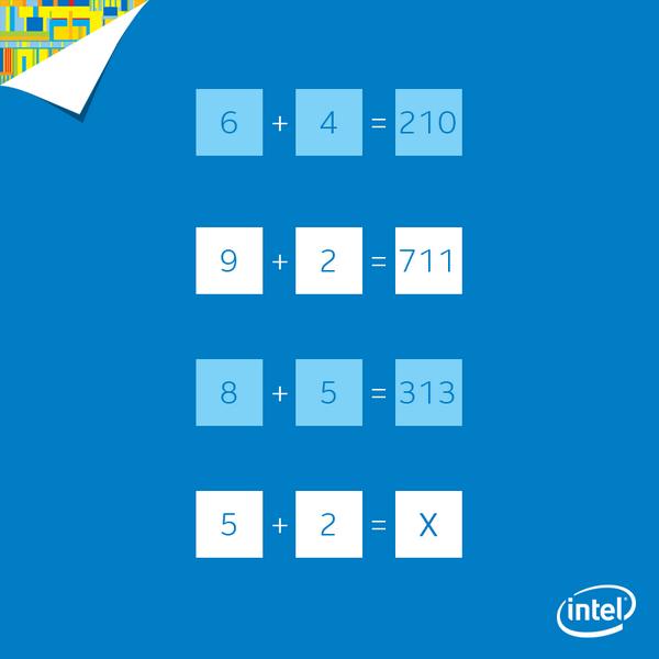 【クイズ】簡単なクイズです!Xにはいる数字は何でしょうか? pic.twitter.com/TslVJHh4IX