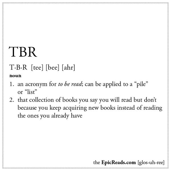 Image result for tbr definition