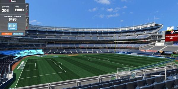 """Madison Square Garden: New York City FC On Twitter: """"#NYCFC's Yankee Stadium"""