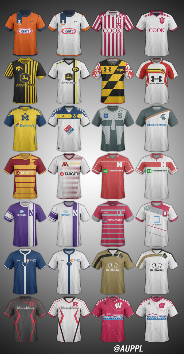 B1G Soccer Kit Concepts http://t.co/wz0lDxoOaK