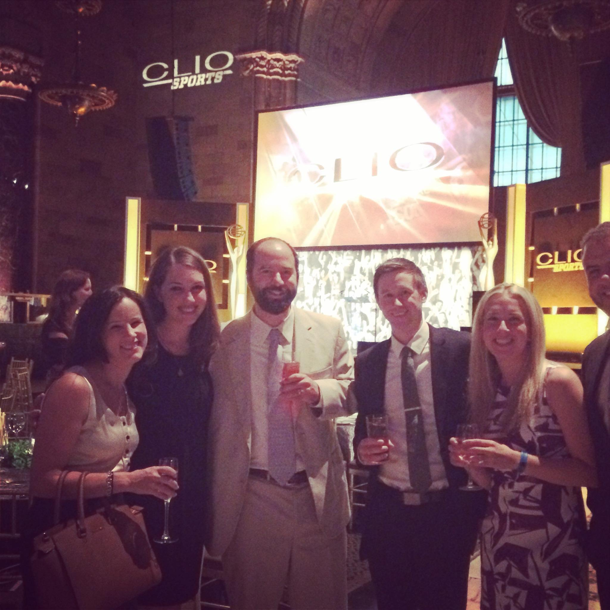 Congrats to the @Dicks team who took home the Grand Clio for Integrated Campaign at the Clio Sports Awards! #omdwins http://t.co/sw5lUKH568