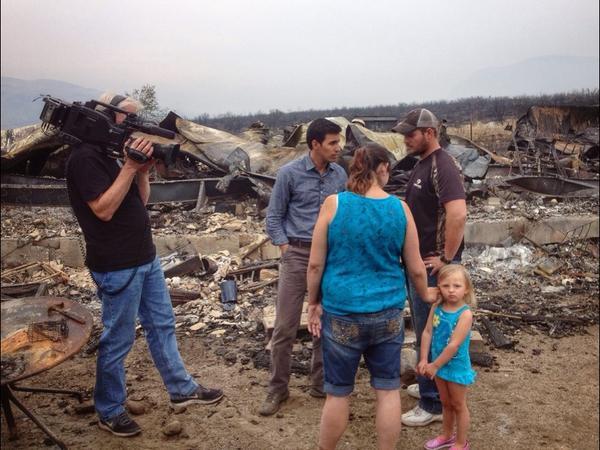 Jacob Rascon On Twitter Washington State S Largest Wildfire