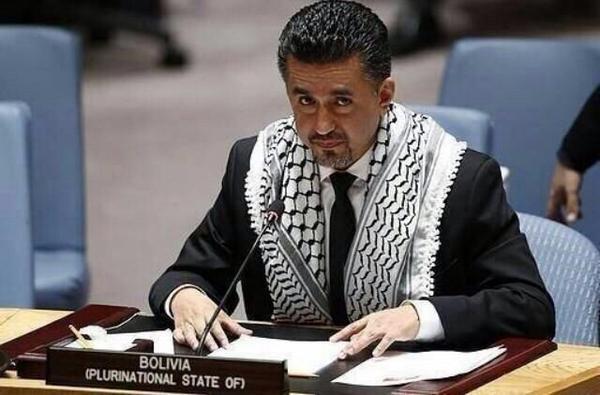 مندوب لوليفيا في الامم المتحدة.. Bolivian Amb.to UN http://t.co/0KXZfm67Qc