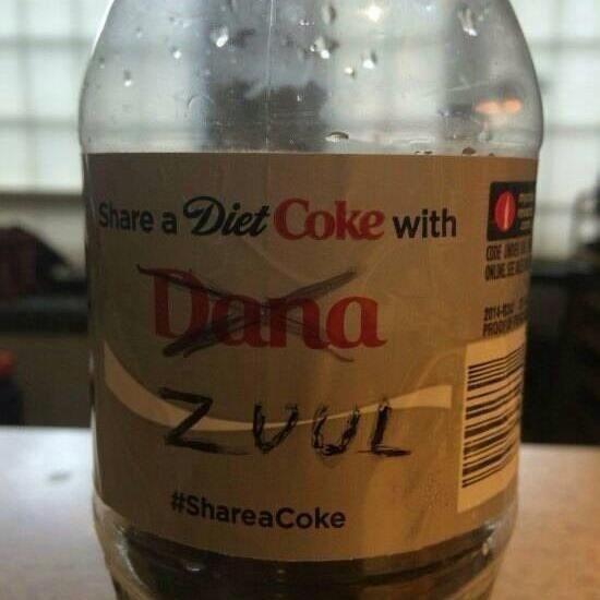 LOL - this is for fans of #Ghostbusters RT @ajlobster: http://t.co/IYfYtKRi0o #ShareACoke