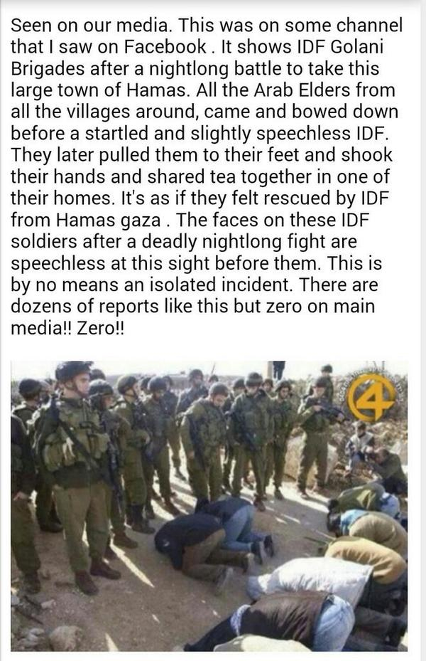 This is what #Hamas would hate to show the world. Therefore, u won't see this on any media outlet. SHARE & RT http://t.co/3cqmP7Ypp3