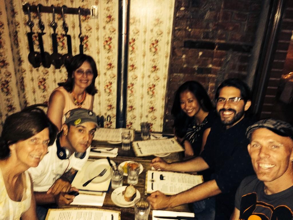 Twitter / JoyceMSullivan: NYC #misfit meetup w @mr_corvair ...