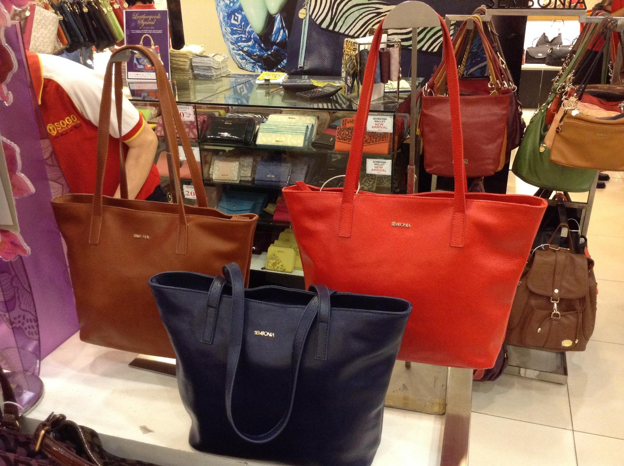 Sogo Malaysia On Twitter How About A New Handbag For Raya Make These Simple And Classic Totes By Sembonia Yours Only At Beauty Arcade