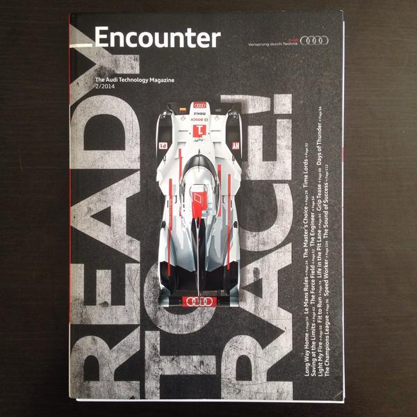 Ready to nerd. @Audi http://t.co/VIrhRjqQDK