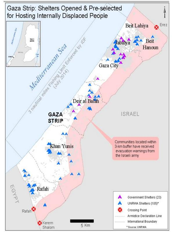 gaza buffer zone