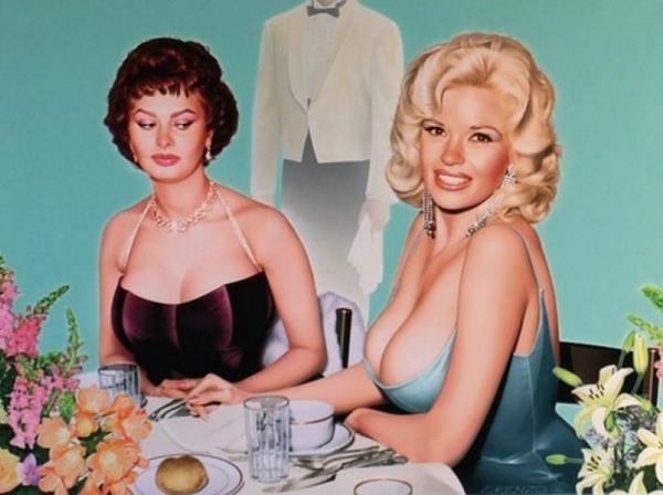 Yann Ulrich On Twitter Was Sophia Loren Jealous Of Jayne Mansfield Http T Co Mkt0via692