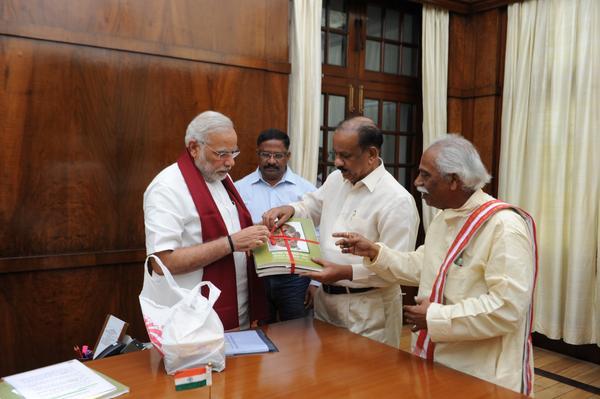 PM Modi releases Sardar Vallabhbhai Patel's autobiography in Braille