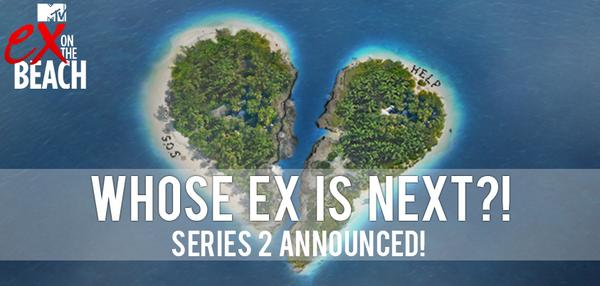 Guess what.. SERIES 2 IS NOW ANNOUNCED! Who can't WAIT for more drama #ExOnTheBeach style?! RT http://t.co/OrLPMBDNXg http://t.co/LDKHNrbdJG