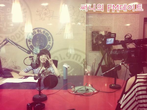 [LIVE] 140723 MBC-FM4U Sunny的FM Date