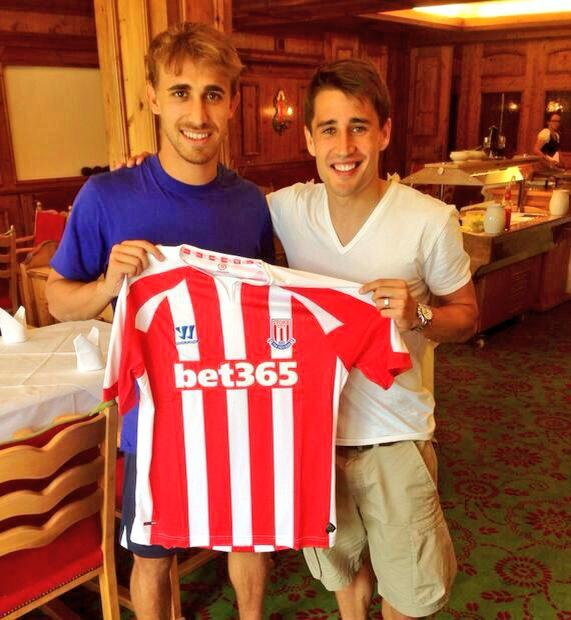 It wasnt a joke: Bojan Krkic really has gone to Stoke [Instagram Picture]