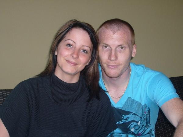 Jérémy Mathieu with Wife Sophie Mathieu