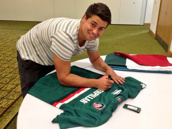 Follow and RT for a chance to win this signed 13/14 home shirt. Ends midday Friday #Tigersfamily http://t.co/8oQ70cDPN6