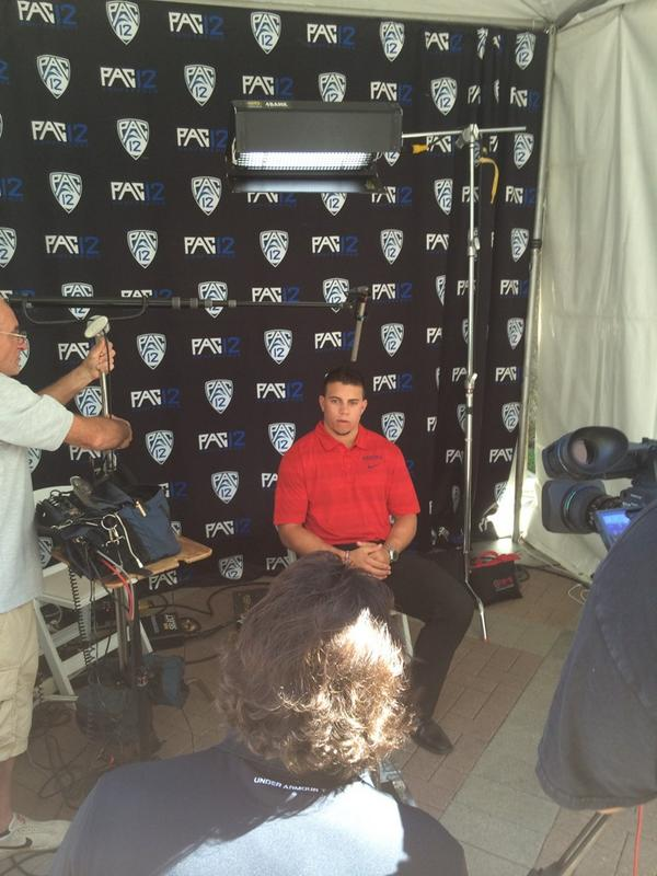 """The @pac12 places a huge emphasis on academics. The student comes first in student-athlete."" - Jared Tevis http://t.co/lPUFQ4FXFA"