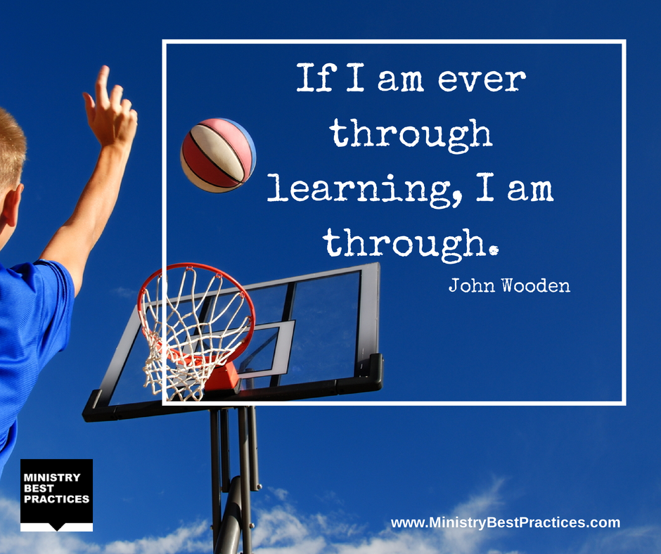 Twitter / BillReichart: John Wooden #quote - ...