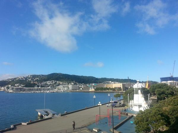 #Wellington. Middle of winter. @Wellington_NZ http://t.co/bsm8S9zLKV