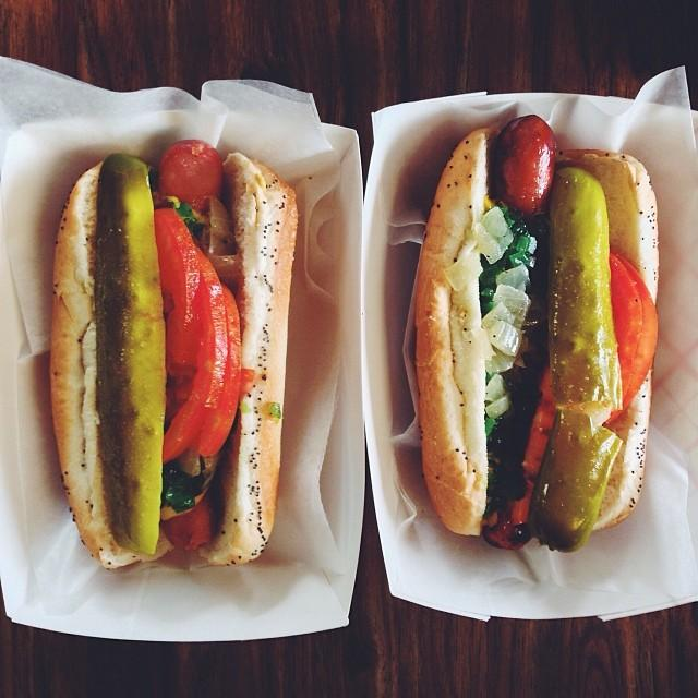Only one choice for dinner tonight. #happyhotdogday http://t.co/qzfI07nbYq