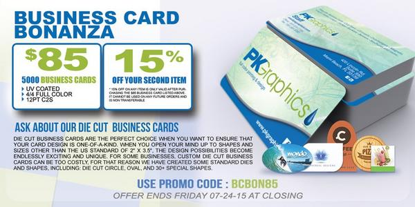 pk graphics on twitter businesscards marketyourbusiness business card bonanza 5000 business cards uv coated for 85 httptcoxtmometopl - 5000 Business Cards