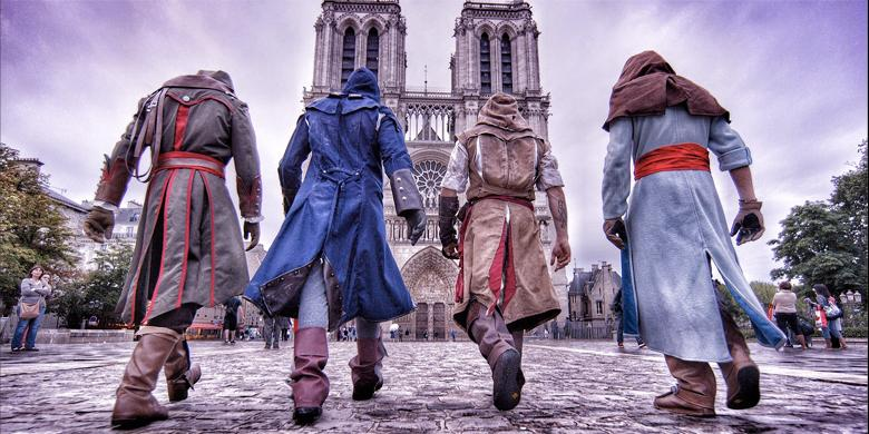 Assassin's Creed Comes To Life On The Streets Of Paris With These Amazing Parkour Stunts http://t.co/VAlp4OstpR http://t.co/XsNLrQV1Zv