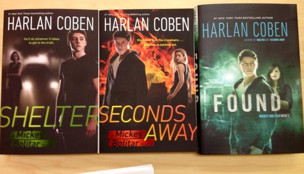 "Harlan Coben on Twitter: ""The Mickey Bolitar Trilogy ..."