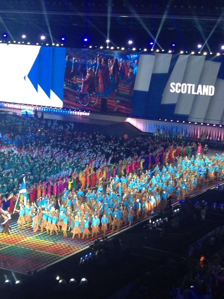RT @ScottishSun: Team Scotland! #Glasgow2014 http://t.co/2kk0r6pxOV