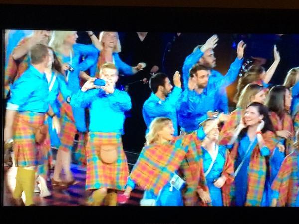 Scotland team plus the Shamen! Unbeatable combination surely? http://t.co/tzkkNKcgia