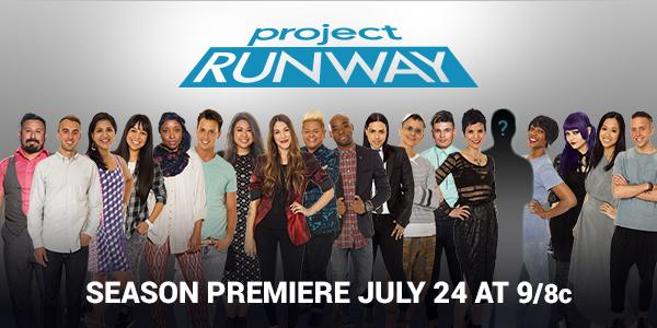 Can't wait for you to see what they create this season on #ProjectRunway on @LifetimeTV! Tomorrow at 9pm EST!! http://t.co/cKstER8sby
